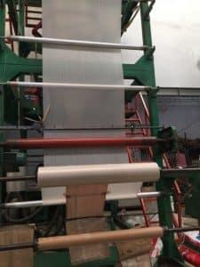 เครื่องขนาด 70 นิ้ว รับผลิตถุงพลาสติก HDPE และ LDPE