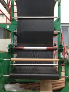 เครื่อง รับผลิตถุงพลาสติก ของโรงงานไทยฮง