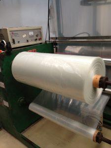 ถุงพลาสติกขนาดใหญ่ เนื้อ LDPE เกรด AB1 ผลิตจากหัวเป่า LDPE