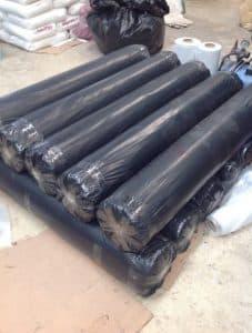 รับผลิตถุงพลาสติก แบบเป็นม้วนขนาดใหญ่ เกรดรีไซเคิลสีดำ หน้ากว้างสูงสุด 1.5 เมตร กางออกมาเป็น 3 เมตร