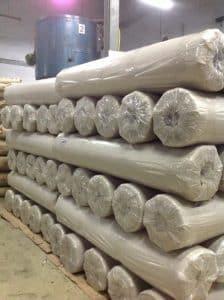 สั่งผลิตถุงพลาสติก HDPE สีชา สำหรับปูตู้คอนเทนเนอร์ ในโกดังของ โรงงานถุงพลาสติก ไทยฮง