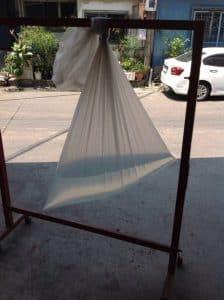การทดสอบการรั่วซึมของ โรงงานถุงพลาสติก ไทยฮง