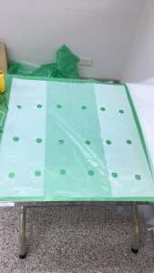 ถุงพลาสติกเจาะรูขนาด 2.5 cm โดย โรงงานถุงพลาสติก ไทยฮง เป็นงานสั่งผลิตถุงพลาสติก แบบเจาะรูตามออเดอร์ลูกค้า